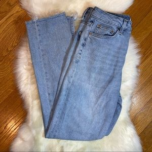 Topshop Moto Jeans Size 26. High waisted